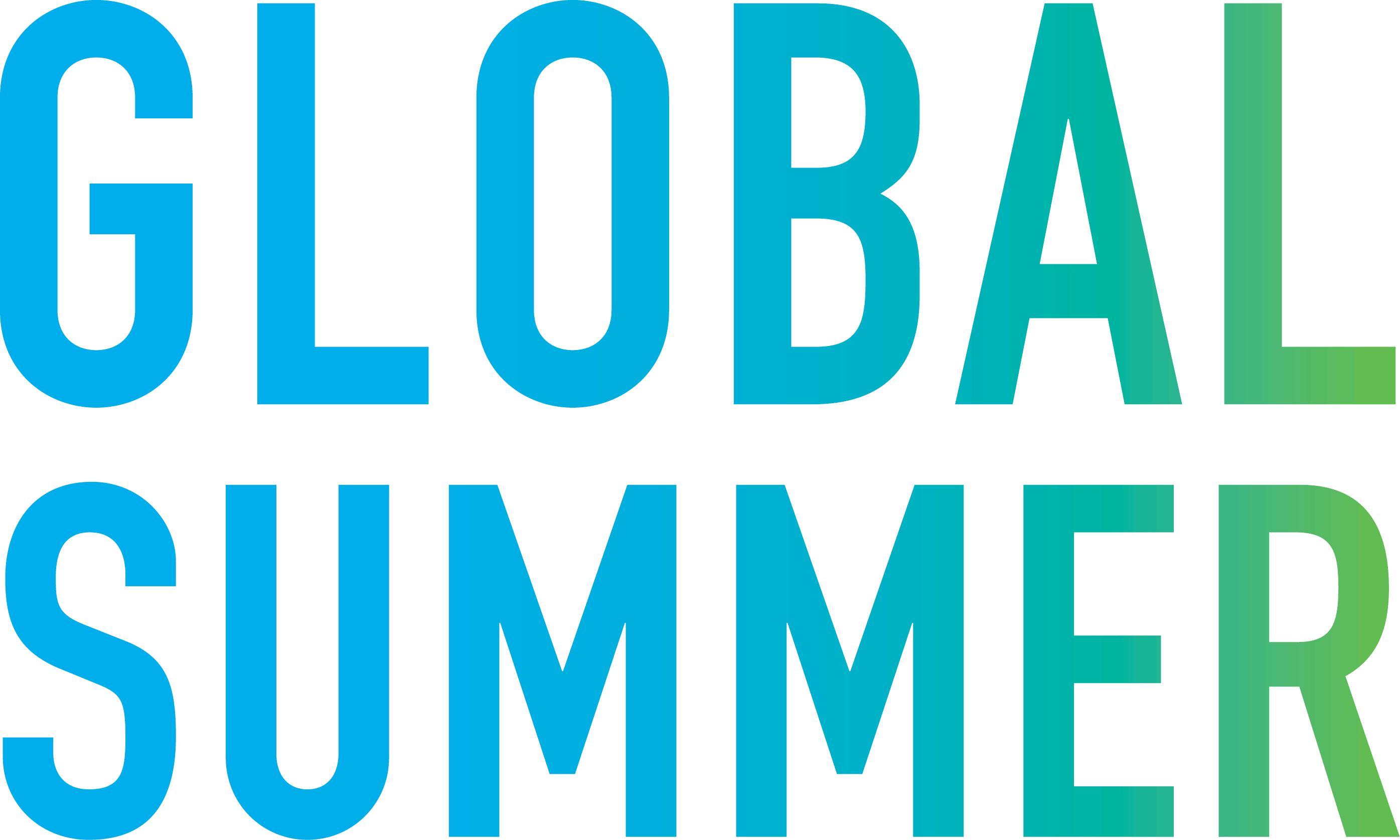 Global Summer program logo